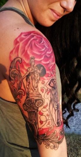 Roman Gods Tattoo