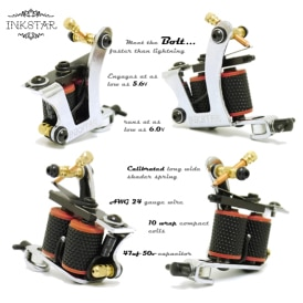 Inkstar Bolt Tattoo Machine Diagram C