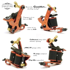 Inkstar Gambler Tattoo Machine Diagram S