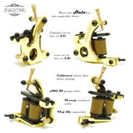 Inkstar Halo Tattoo Machine Diagram S