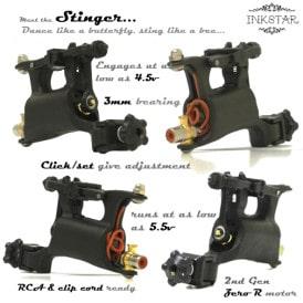Inkstar Stinger Rotary Tattoo Machine Diagram S-1