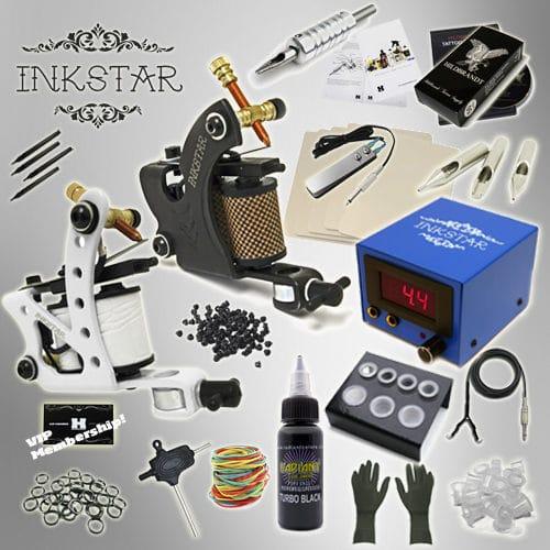 Inkstar Tattoo Kit Journeyman BLK