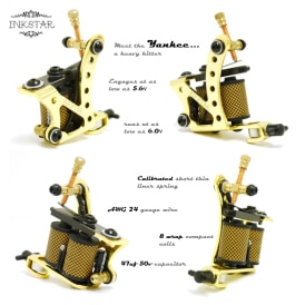 Inkstar Yankee Tattoo Machine Diagram S