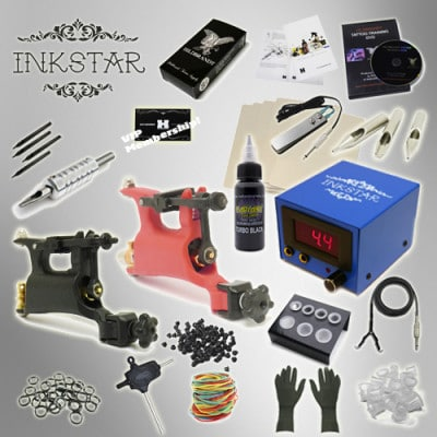 Inkstar Rotary Tattoo Kit TKI2RBLK
