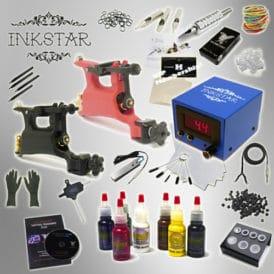 Inkstar Rotary Tattoo Kit TKI2RRC7