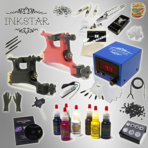 tattoo kit inkstar journeyman rotary radiant ink set