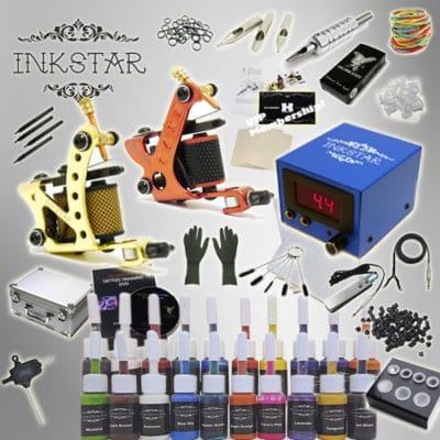 inkstar journeyman kit with case and 20 inks
