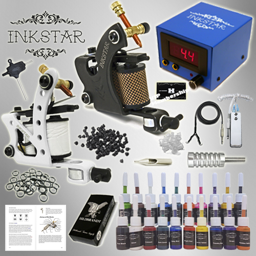 Inkstar Tattoo Maker Tattoo Kit 20 Color