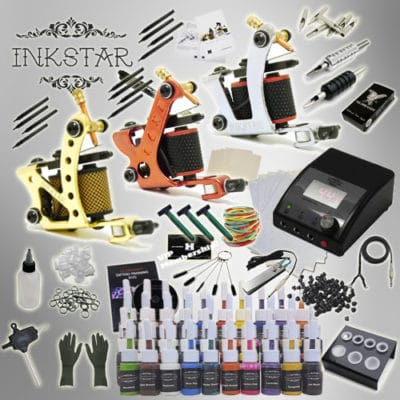 inkstar tattoo kit apprentice c and 40 inks