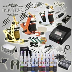 inkstar tattoo kit apprentice c with case and 40 inks