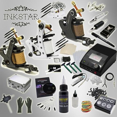 Tattoo kit inkstar apprentice c kit 20 colors ink for Dynamic black tattoo ink review