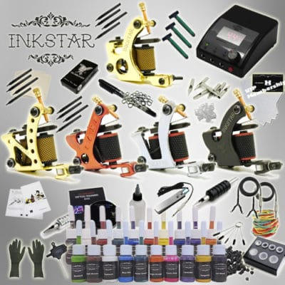 inkstar tattoo ace kit with 20 ink