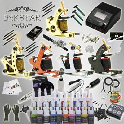 inkstar tattoo ace kit with 40 ink