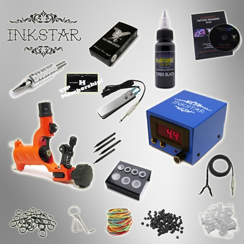 Tattoo Kit Inkstar TKIRBLK
