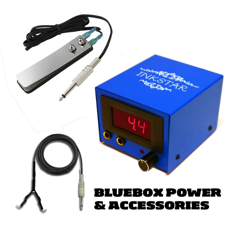Tattoo Power Supply Blue Box