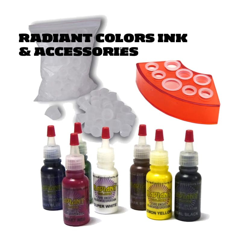 Tattoo Ink Set Radiant