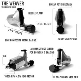 Hildbrandt Weaver Rotary Tattoo Machine 2