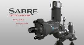 Sabre rotary tattoo machine gray advert