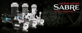 sabre rotary tattoo machine banner