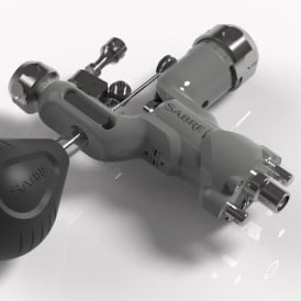 Sabre rotary tattoo machine gray gallery 3
