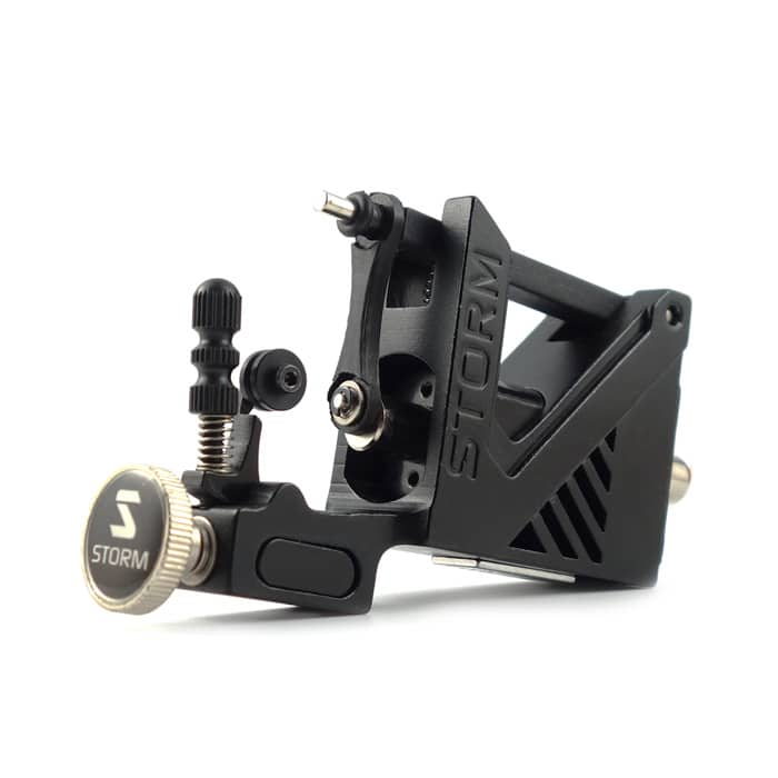 Storm a100 rotary tattoo machine black version 2 for Stealth tattoo machine