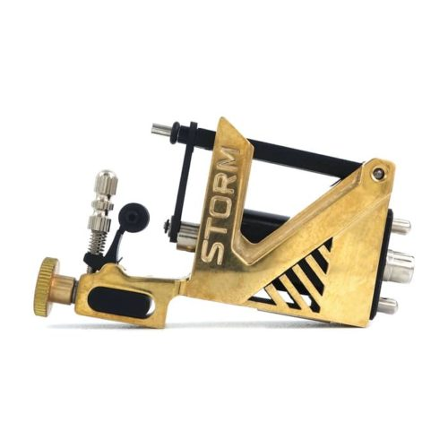 storm rotary tattoo machine brass v2