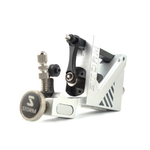storm rotary tattoo machine silver v2 2