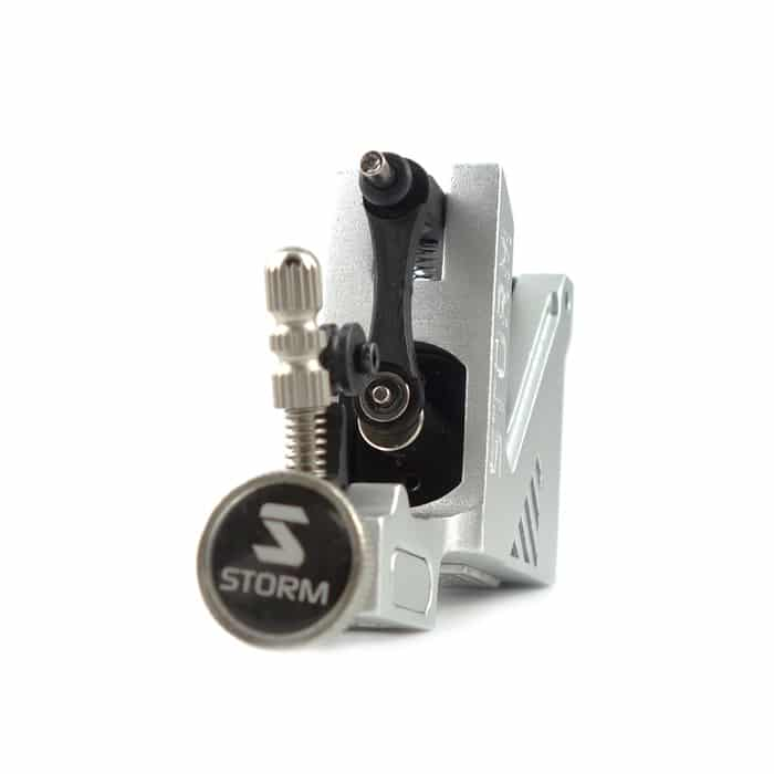 Storm a100 rotary tattoo machine silver version 2 for Best rotary tattoo machine on the market