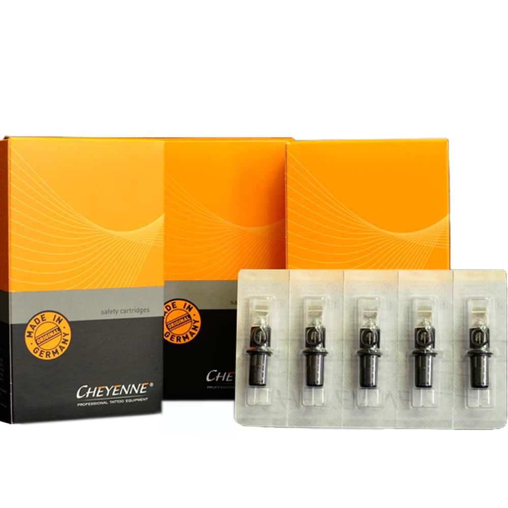 cheyenne cartridges needle size 3