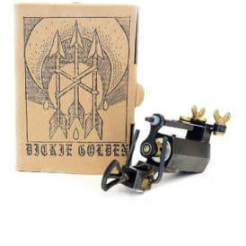 dickie golden black rotary tattoo machine 1