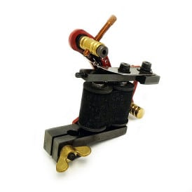 dickie golden bullet hole red coil tattoo machine 3