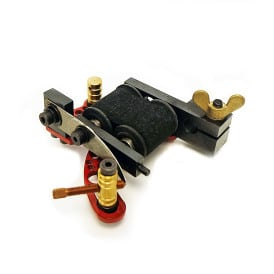 dickie golden bullet hole red coil tattoo machine 7