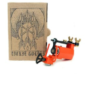 dickie golden orange rotary tattoo machine 1