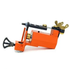 dickie golden orange rotary tattoo machine 2a
