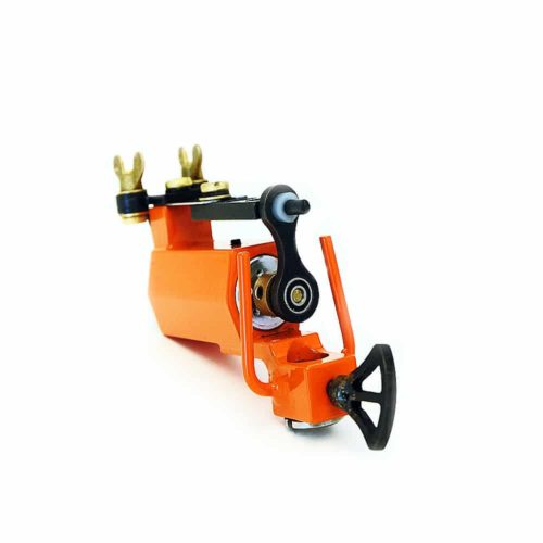 dickie golden orange rotary tattoo machine 5