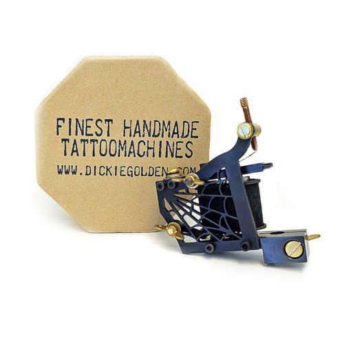 dickie golden spider coil tattoo machine 1
