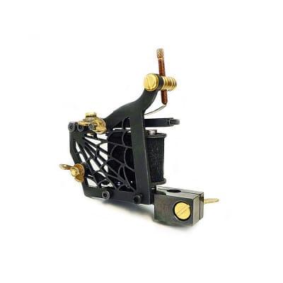 dickie golden spider coil tattoo machine 2