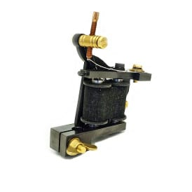 dickie golden spider coil tattoo machine 3
