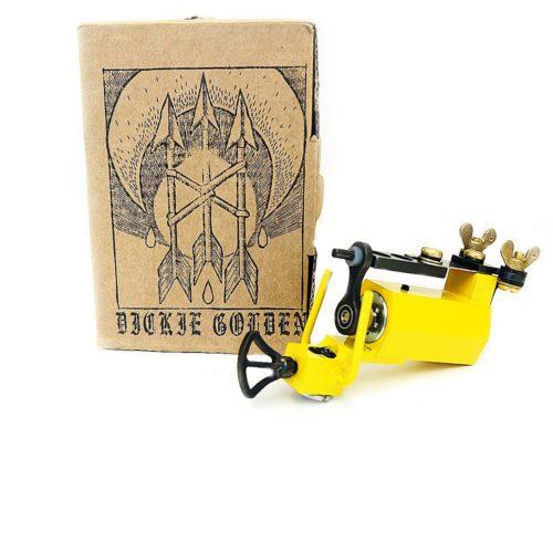 dickie golden yellow rotary tattoo machine 1