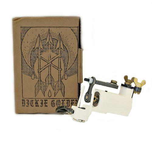 dickie golden white rotary tattoo machine 1