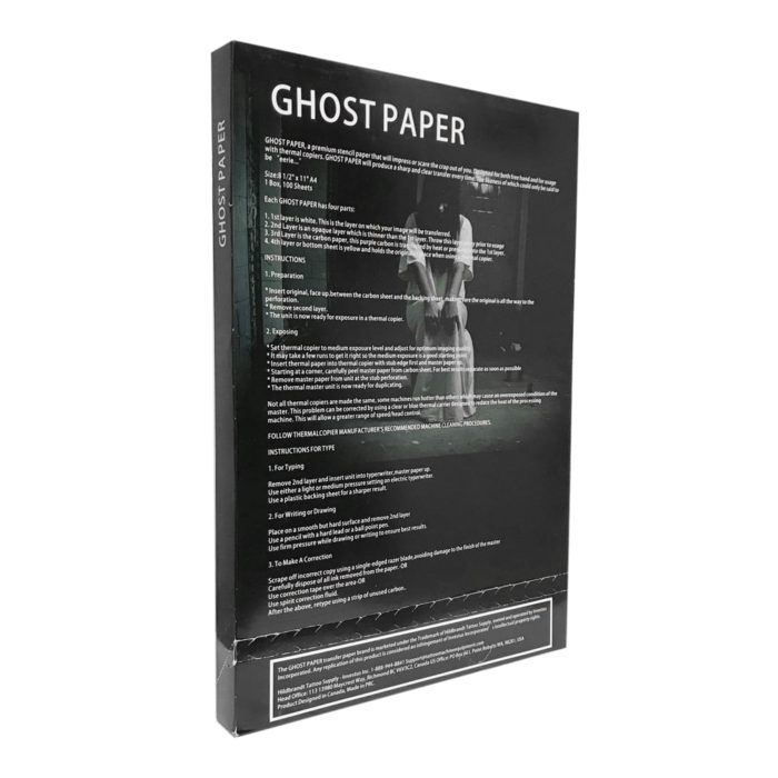Ghost Paper Transfer Paper 5