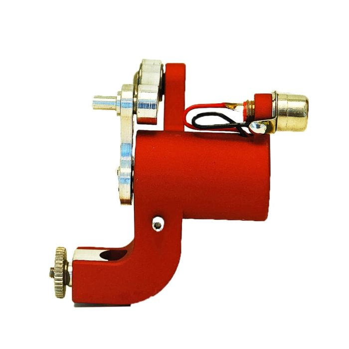 jack steel rotary tattoo machine red 3