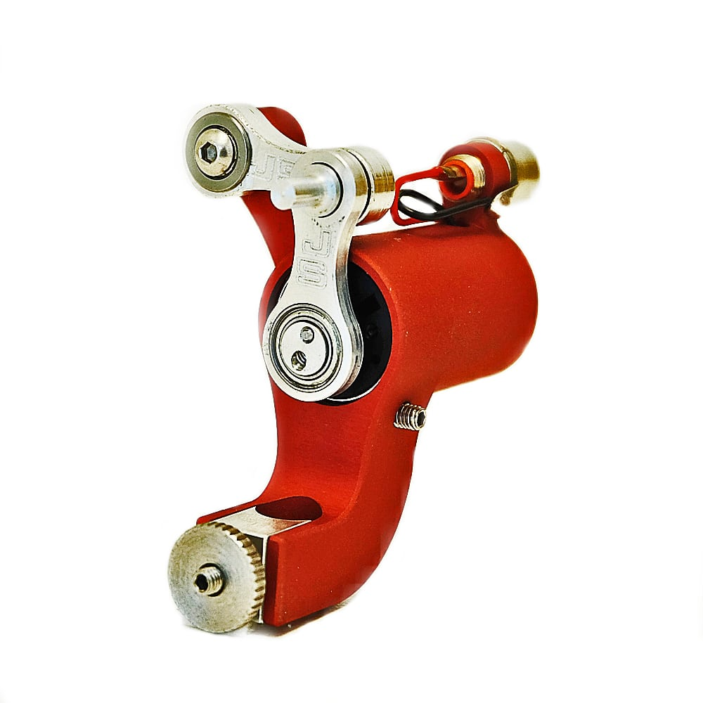 jack steel rotary tattoo machine red 4