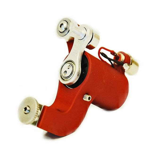 jack steel rotary tattoo machine red 7