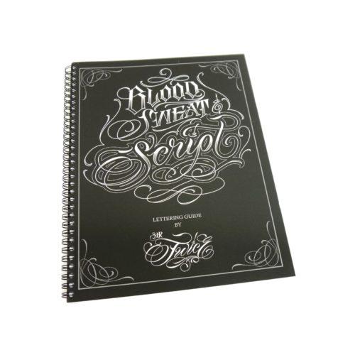 blood sweat script tattoo book 1