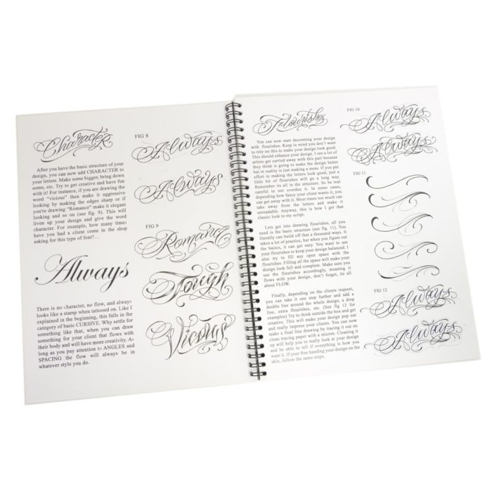 blood sweat script tattoo book 3
