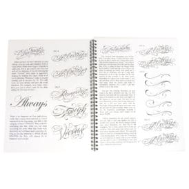 blood sweat script tattoo book 4