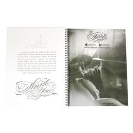 blood sweat script tattoo book 7