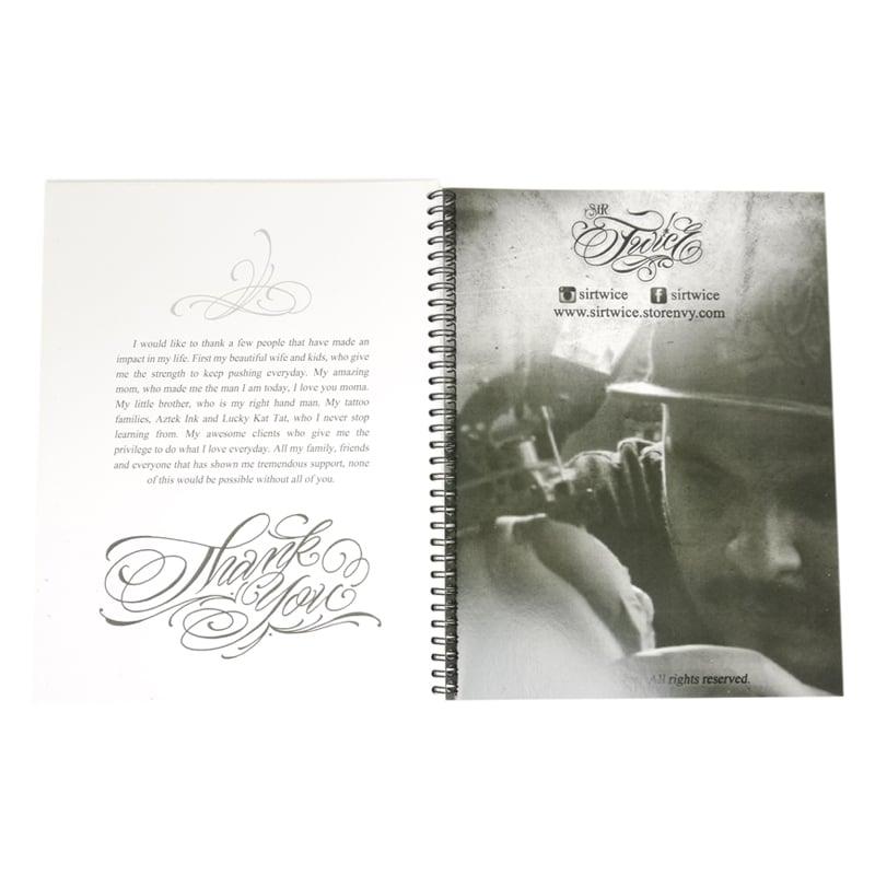 blood sweat script tattoo book 7