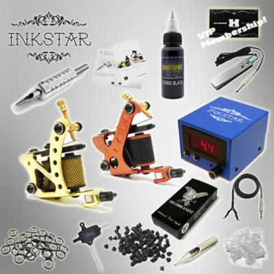 Tattoo Kit Inkstar TKI2DBLK